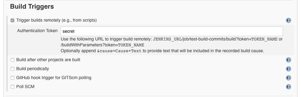 Jenkins integration — RhodeCode Enterprise 4 17 3 4 17 3