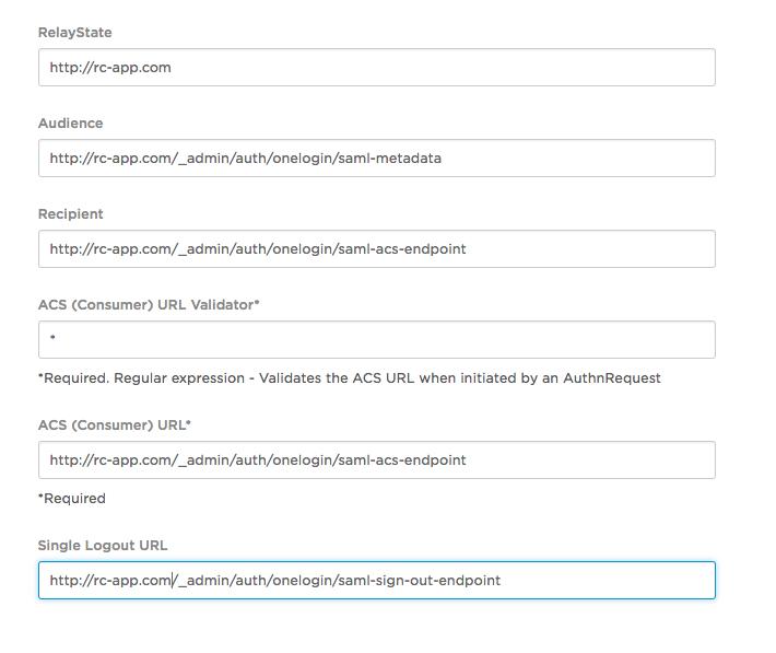 SAML 2 0 with One Login — RhodeCode Enterprise 4 17 3 4 17 3